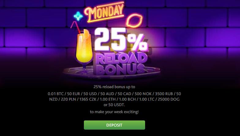 7Bit bonus code