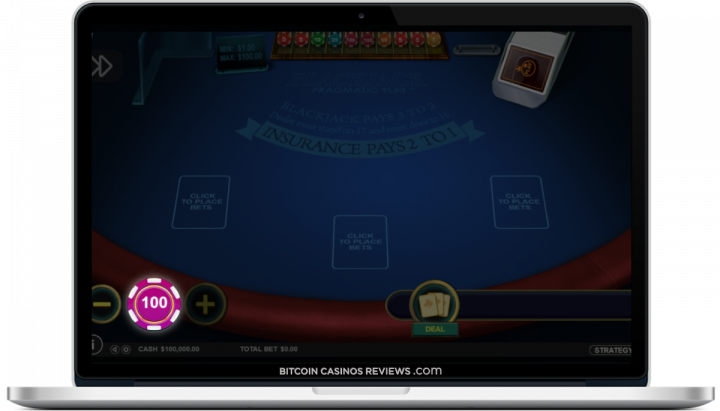 bitcoin blackjack