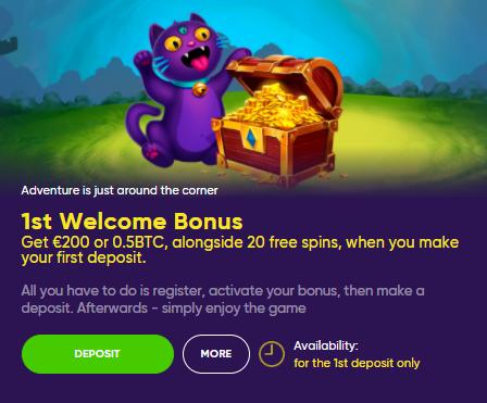 Bao Casino bonus code