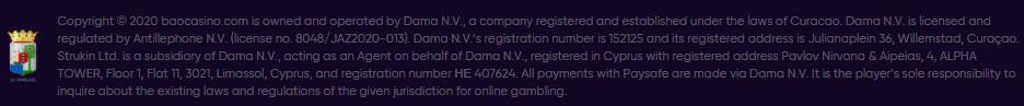 crypto casino Bao