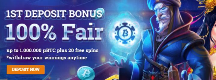 Bspin.io Casino no deposit bonus
