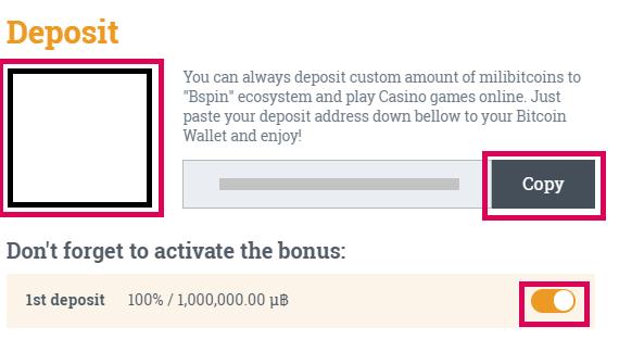 Bspin.io Casino no deposit bonus codes 2021
