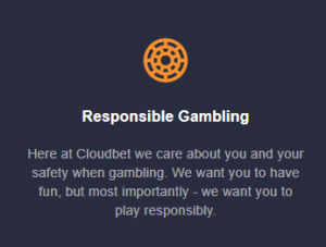 CloudBet no deposit