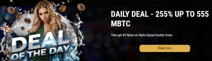 CryptoThrills Casino bonus code