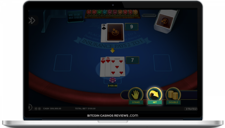 melhor site de blackjack btc