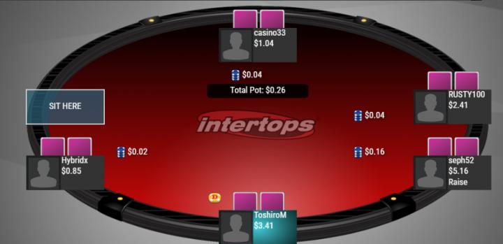 Intertops bitcoin poker