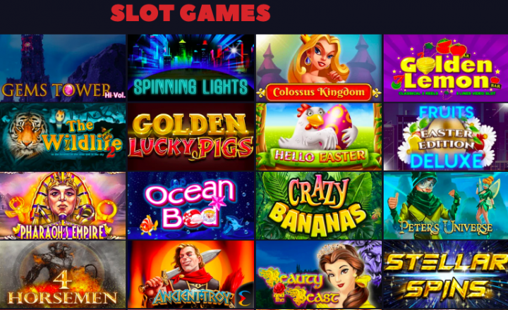 Bitcoincasino.us slot games