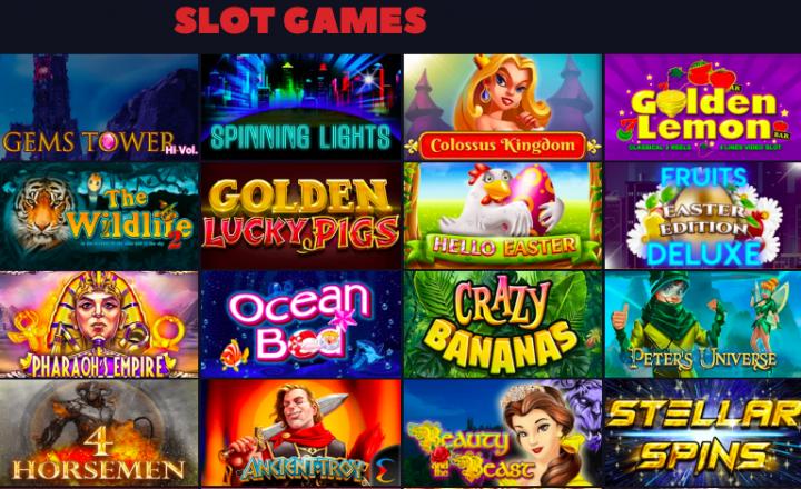 Bitcoincasino.us slot games