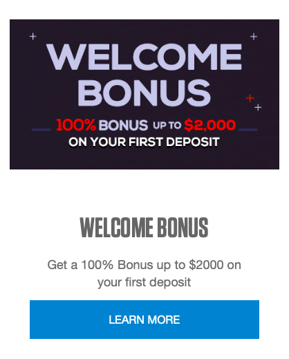 Black Chip Poker welcome bonus