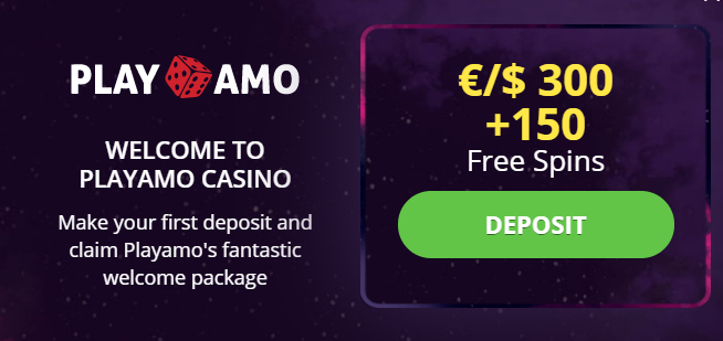 PlayAmo no deposit bonus