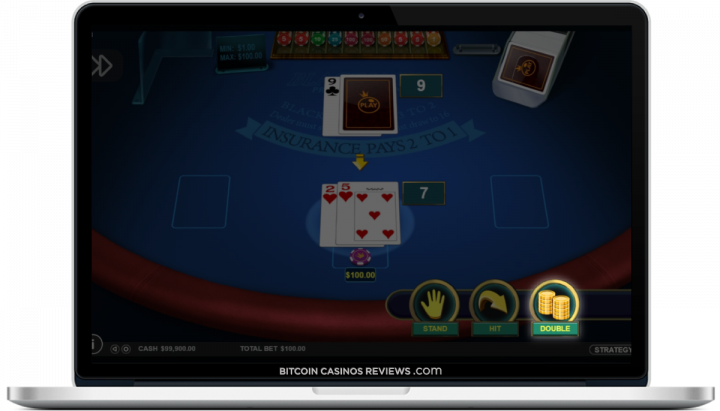 casinos de blackjack btc