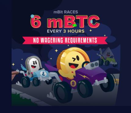 mBit no deposit bonus