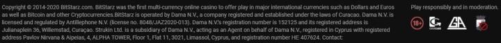 Análise casino BitStarz