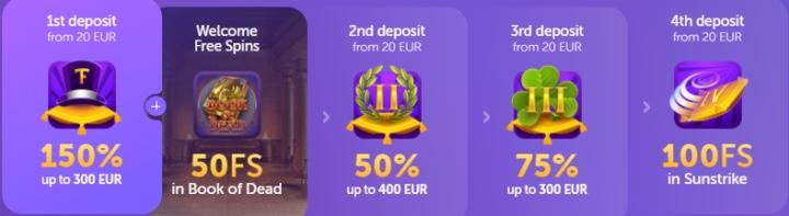 Bônus casino TrueFlip