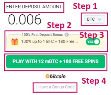 Bônus casino BitStarz