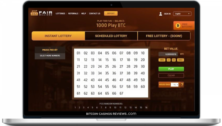 loteria bitcoin online