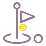 bitcoins for golf betting