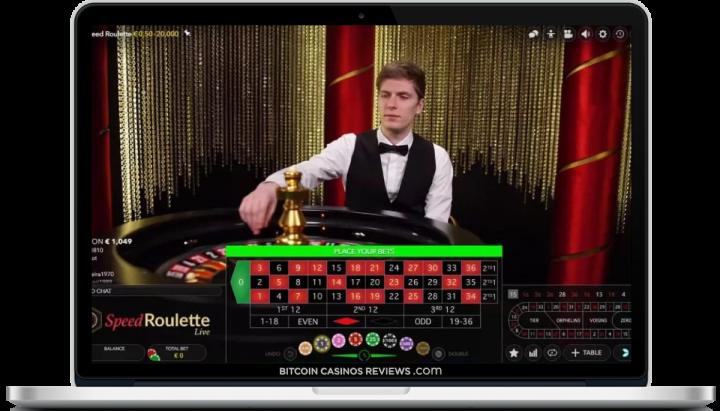 Биткойн-казино с живым дилером