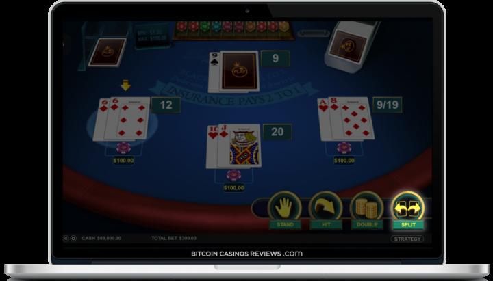 BTC казино для блэкджека