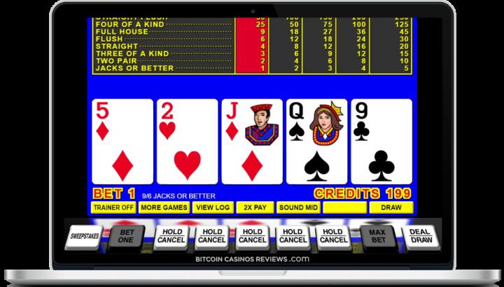 биткойн казино игра в покер