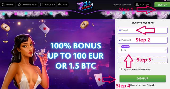 биткойн - казино 7Bit