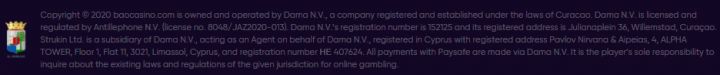 BAO крипто казино