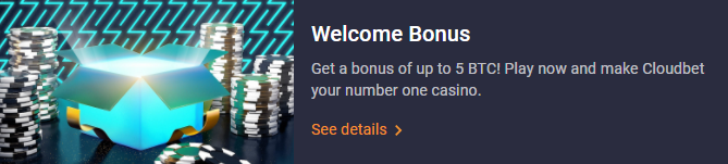 CloudBet бонус