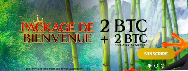Codes de bonus sans dépôt KingBit Casino 2021