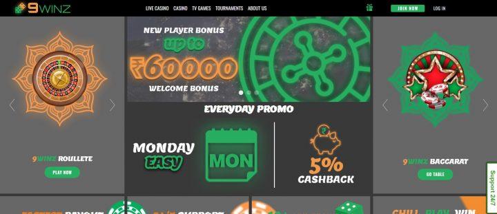 9winz online casino
