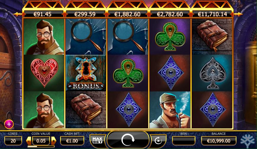 Holmes and the Stolen Stonesjackpot slot