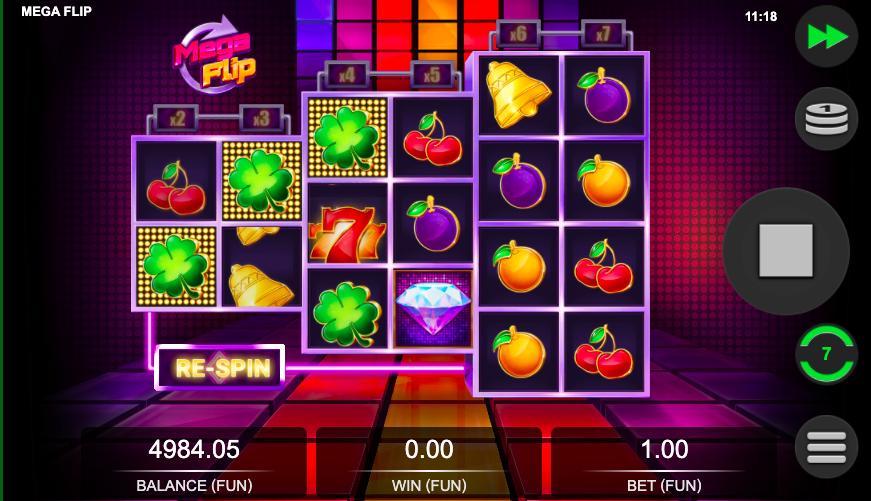 Mega Flip fruit slots