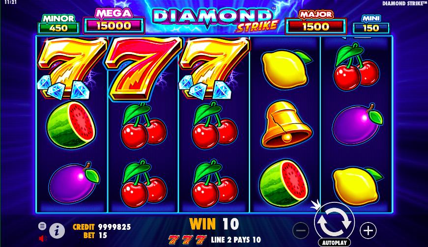 diamond strike jackpot slots