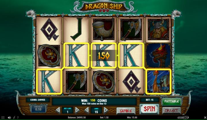dragon ship nordic slot