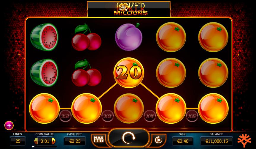 joker millions jackpot slots