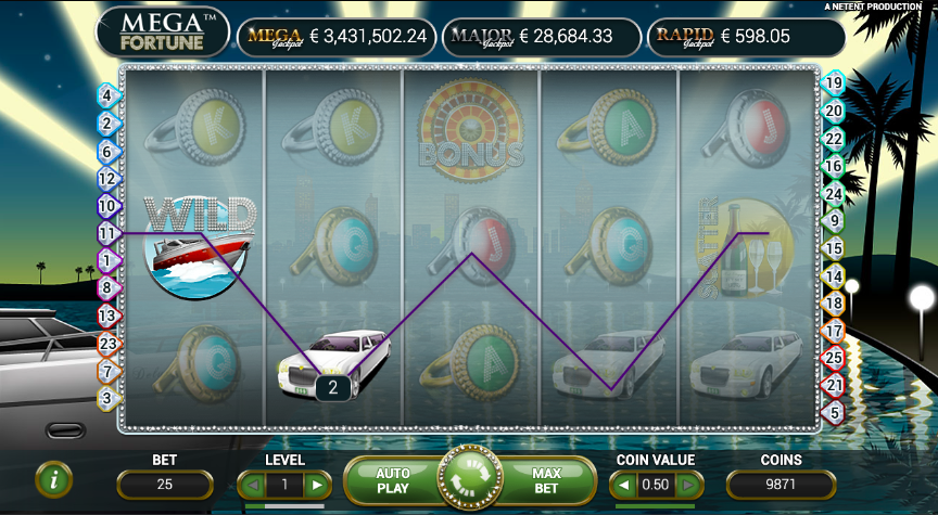 mega fortune jackpot slots