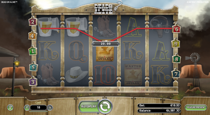 dead or alive high volatility slots