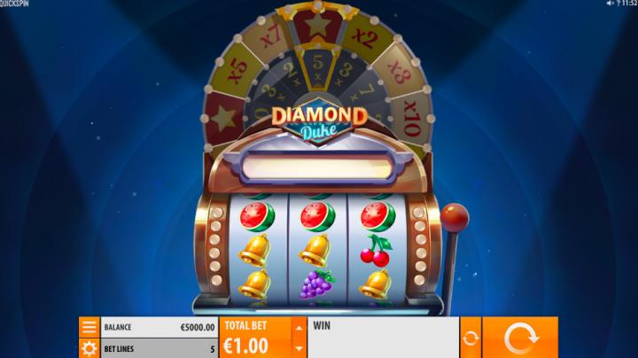 diamond duke 3 reel slot
