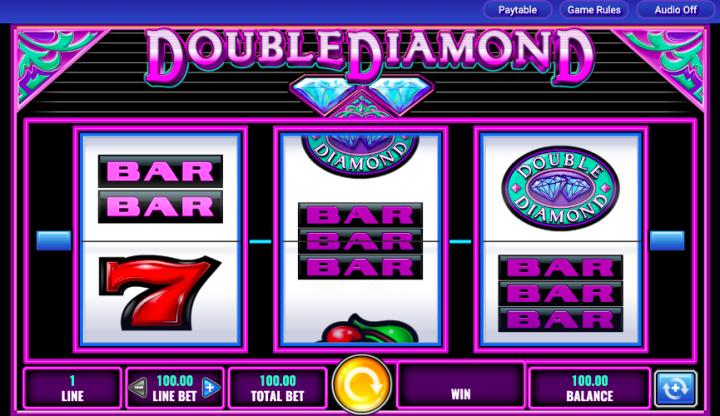 double diamond 3 reel slot