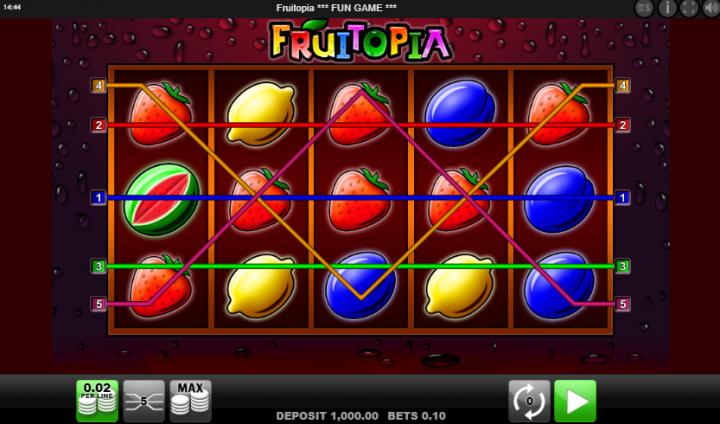 slot fruitopia