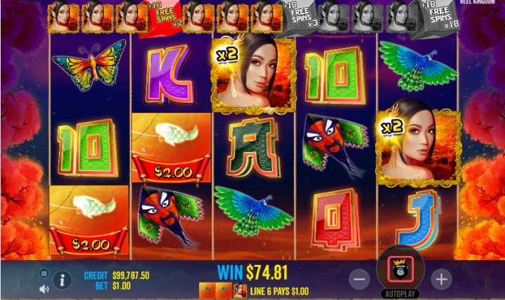 Floating Dragon free spins